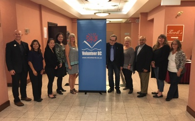Volunteer BC Announces New Board of Directors for 2017/18!