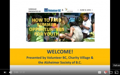 VIDEO: How to Find Summer Volunteer Opportunities For Youth