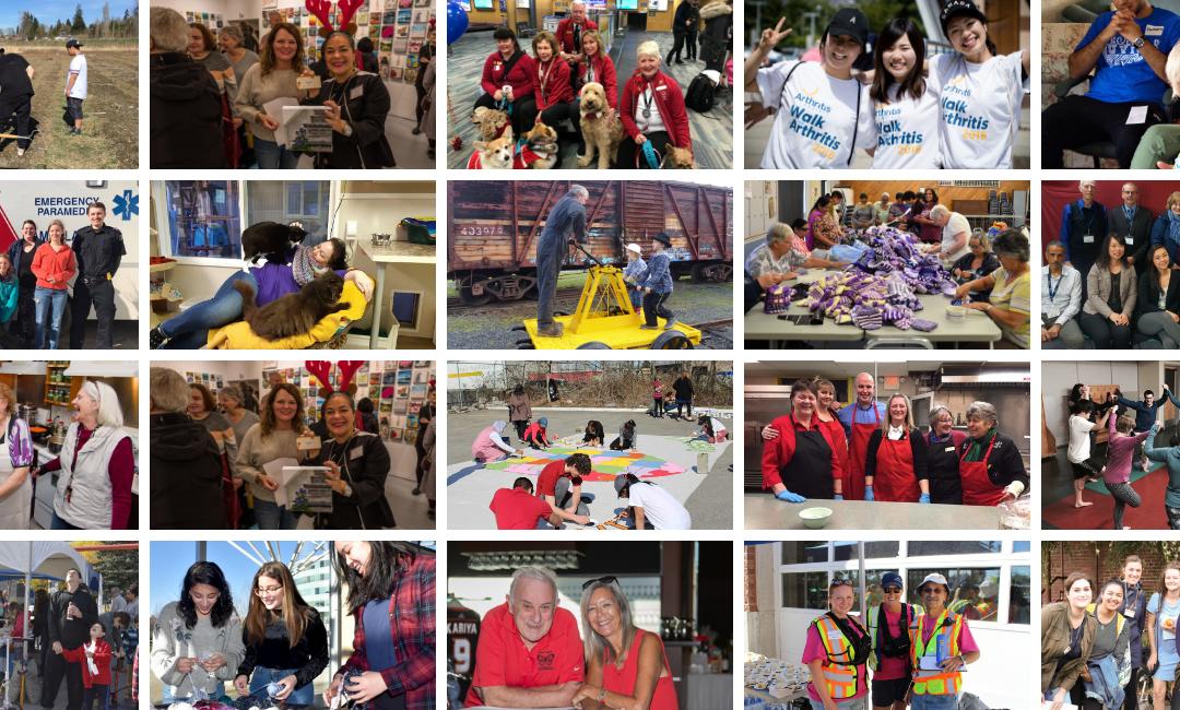 Volunteer BC's National Volunteer Week 2019 Photo Contest Winners