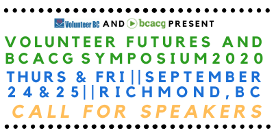 Save the Date – Volunteer Futures 2020