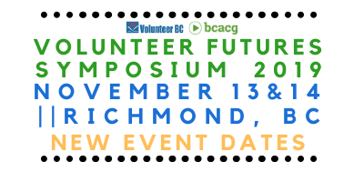 *Volunteer Futures – New Dates!