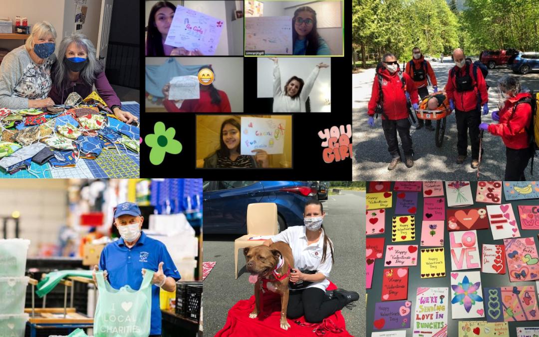 Volunteer BC's National Volunteer Week 2021 Photo Contest Winners