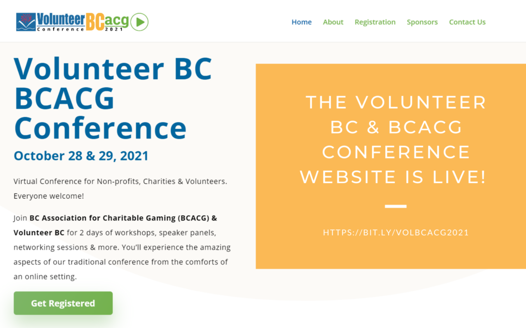 Volunteer BC & BCACG Conference Website is Up!